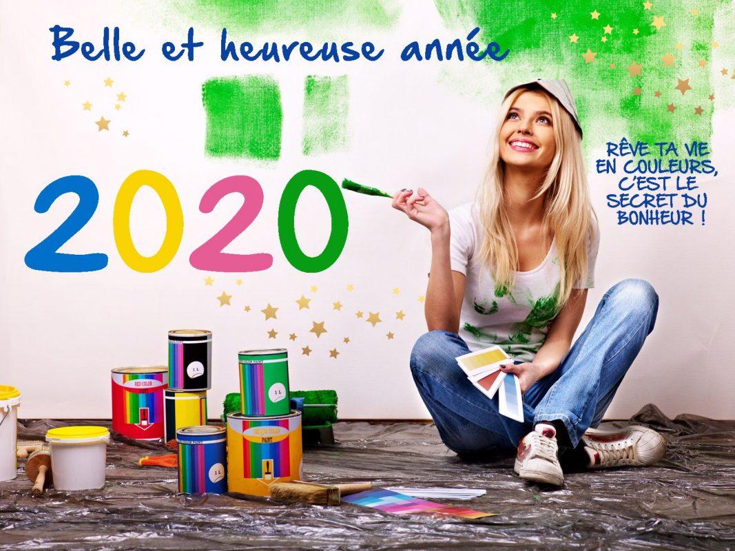 Belle et heureuse année 2020